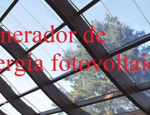 Se puede generar energía fotovoltaica, desde vidrios/cristales transparentes
