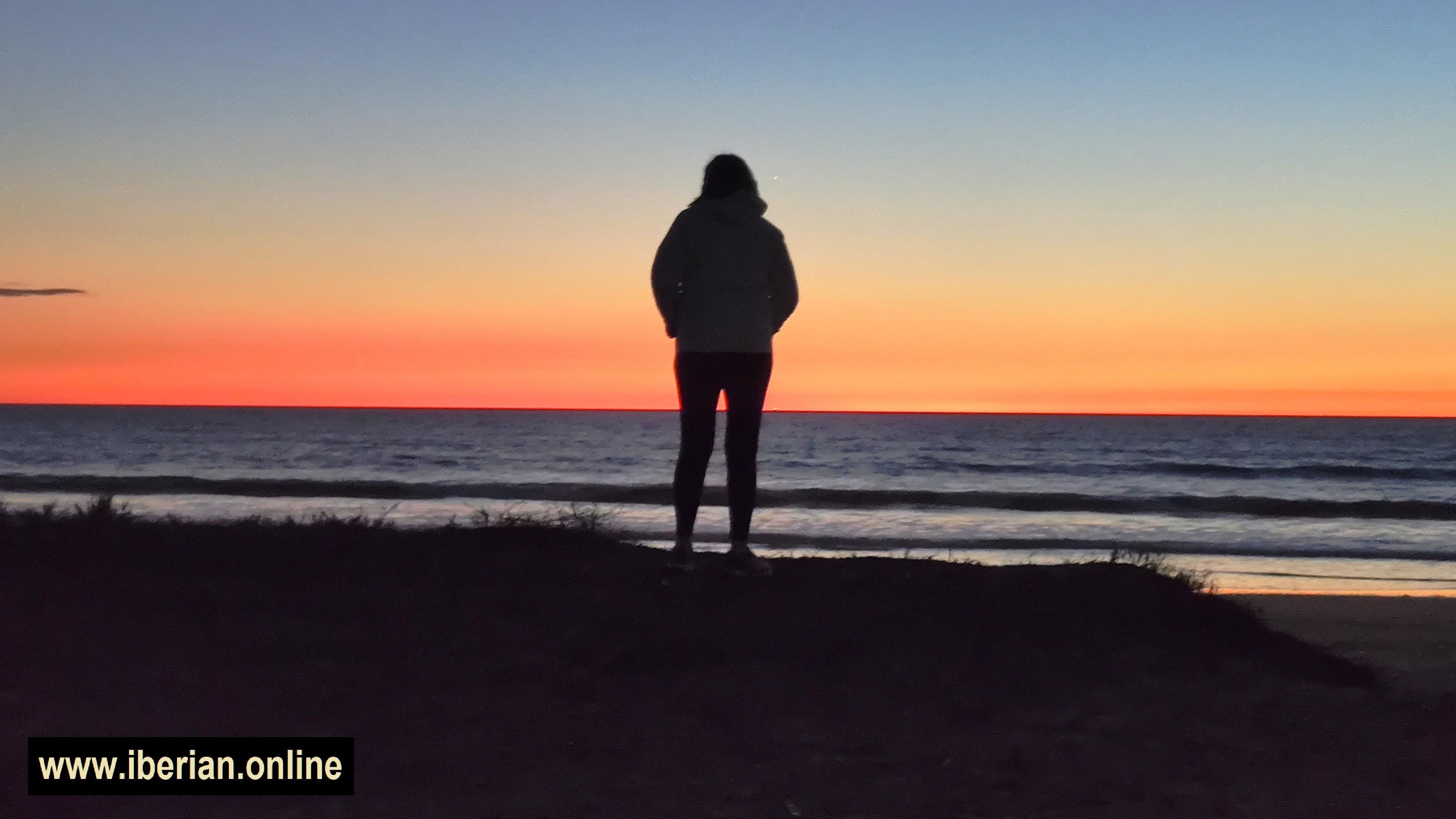 Puesta de sol en Costa Ballena