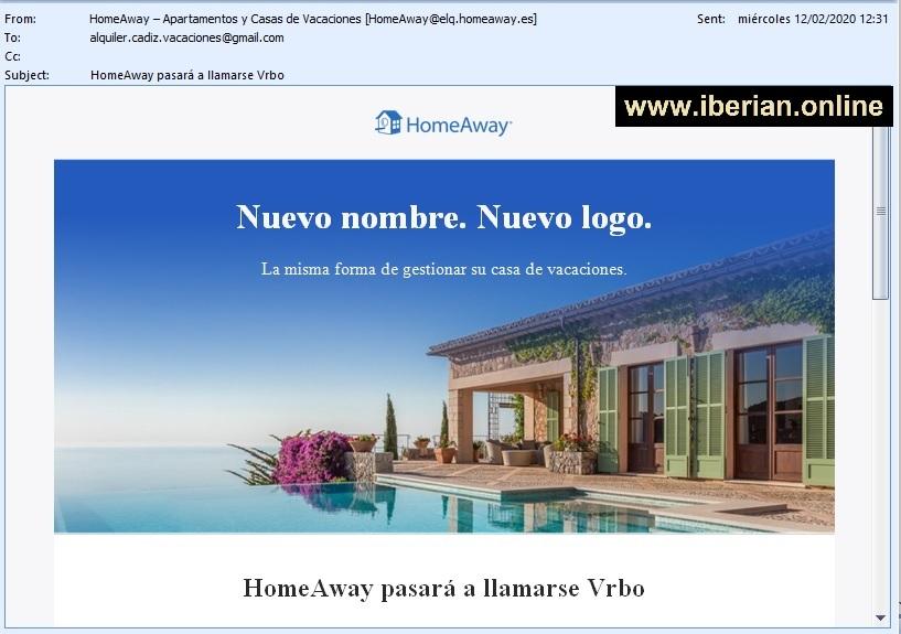 HomeAway pasará a llamarse Vrbo