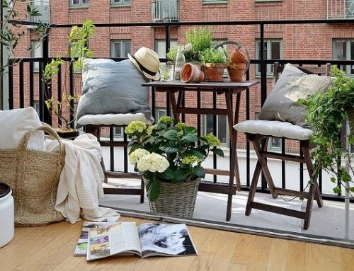 Convertir tu Terraza ó Patio, en un Oasis, con ideas, y 4 cositas