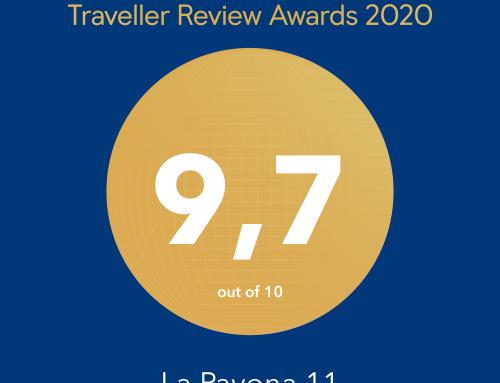 Hemos recibido el Traveller Award 2020 de Booking