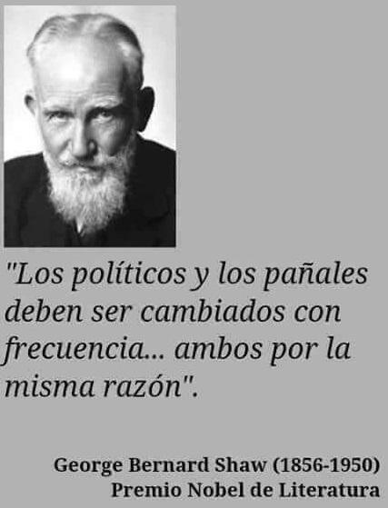 Los Politicos como los Pañales