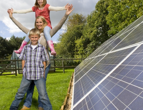 El nuevo pozo de energia es el SOL, y con Placas Solares la bajamos