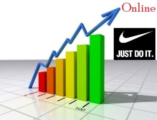 las ventas online de Nike aumentó un 83%, dejando AMAZON