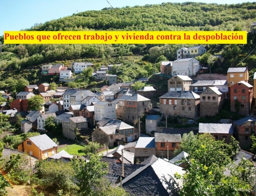 Pueblos que ofrecen trabajo y vivienda contra la despoblación