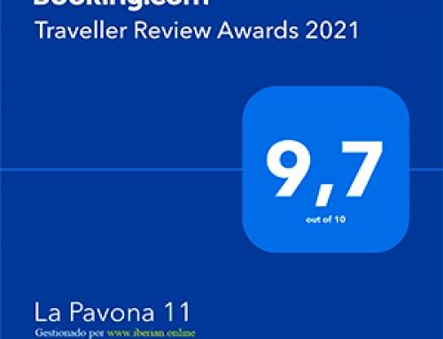 Booking.com premia en Chipiona, por 2º año consecutivo el Alquiler Vacacional a La Pavona 11 de Chipiona