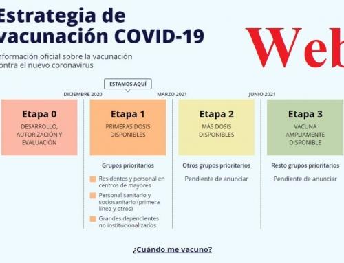 EL GOBIERNO LANZA UNA WEB PARA SABER CUANDO TE VACUNARÁS DEL COVID-19